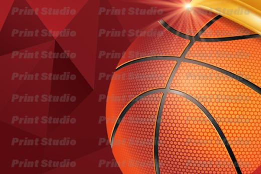 バスケットボール名刺 2【AA019】