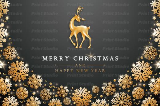 クリスマスカード 1 [AA022]