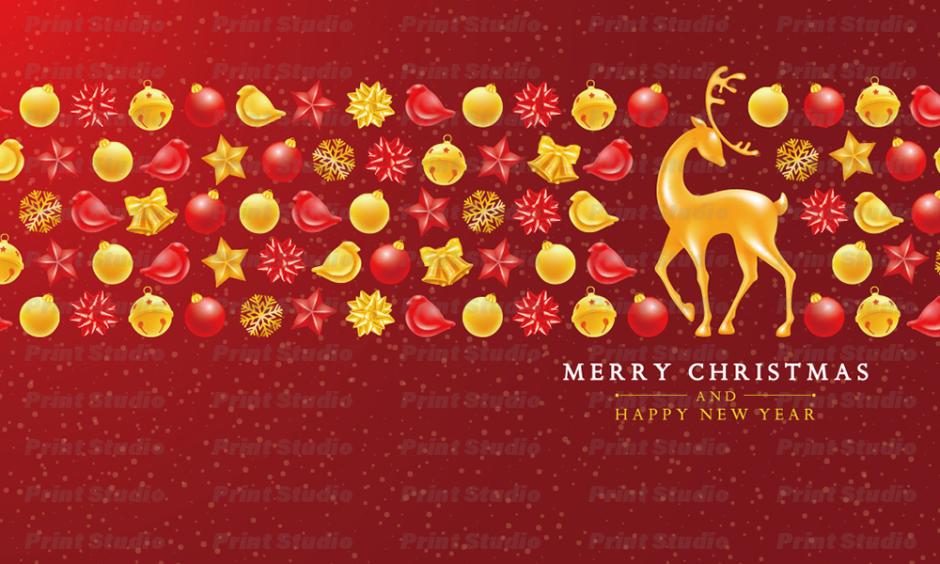 クリスマスカード 2 [AA025]