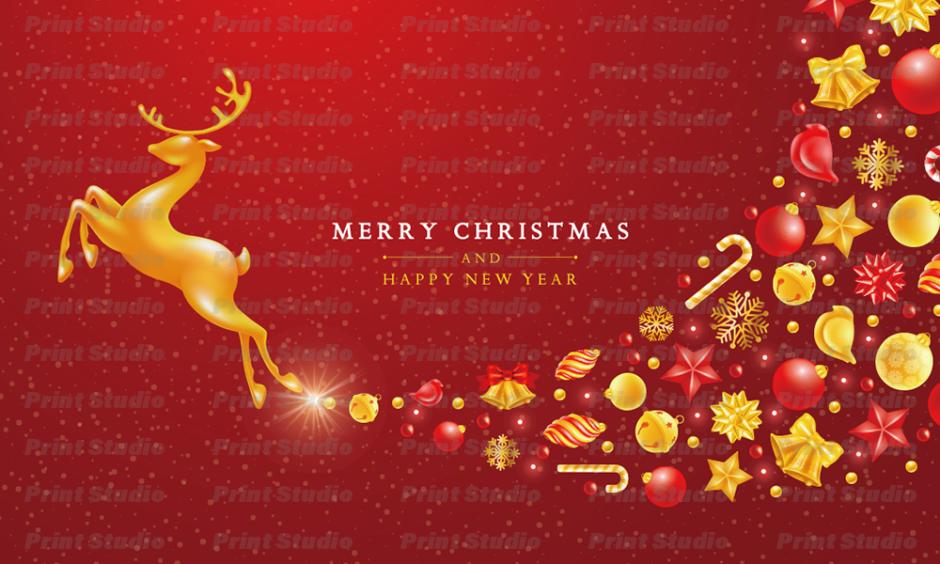 クリスマスカード 3 [AA028]